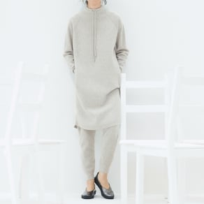 ホールガーメント(R) ワッフル編み パンツ 写真