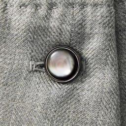 AGNONA/アニオナ カシミヤシルク シャツワンピース(サイズ3) カフスボタン部分