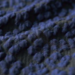 フランス素材 小花柄 ふくれジャカード サックワンピース(サイズ9) 生地アップ