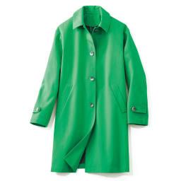イタリア素材 ボンディング ステンカラー コート