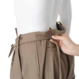 肩ひも付き 2ウェイタックパンツ(サイズ67) 肩ひもはボタンで取り外し・調節可