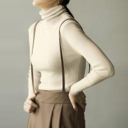 肩ひも付き 2ウェイタックパンツ(サイズ67) コーディネート例