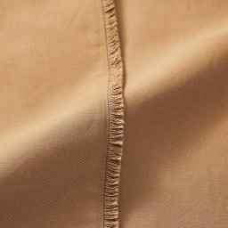 カシュクールデザイン フリンジ使い コットンリネン ワンピース フリンジ部分