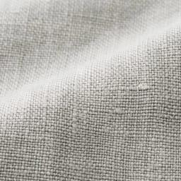 (股下丈75cm)リベコ社 裾ベント入り リネン セミワイドパンツ 生地アップ