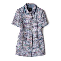 トゥルニエ社 ファンシーツイード ジャケット