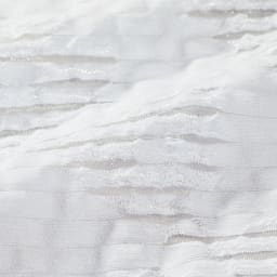 フランス素材 透かしジャカード ワンピース 生地アップ