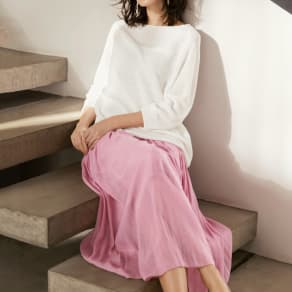 エアリーフロー きれい色スカート 写真