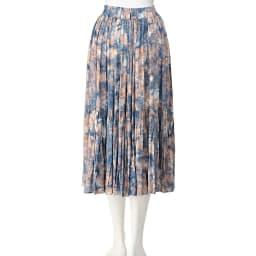 SO SOON/ソースーン マーブル風 プリントスカート