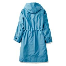 キルティングライナー付き 撥水 モッズ風コート BACK ※今回こちらのお色の販売はございません。参考画像です。