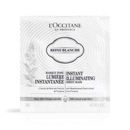 L'OCCITANE/ロクシタン レーヌブランシュ イルミネイティングシートマスクセット
