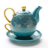 アラジン/ティーセット(ティーポット、ティーカップ、ソーサー)|ディズニー ミュージカル 食器 写真