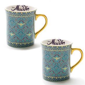 アラジン/マグカップ2個セット|ディズニー ミュージカル 食器 写真