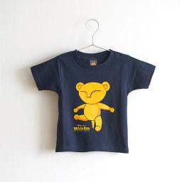 ライオンキング/ベビーシンバ 半袖Tシャツ(キッズ) ネイビー|ディズニー ミュージカル Front