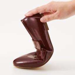 MIO NOTIS/ミオノティス ボロネーゼ オペラシューズ 屈曲性があり、足に馴染みます。