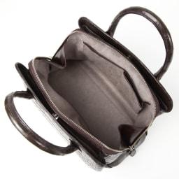 クロコダイル ハンドバッグ inside