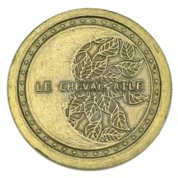 Le cheval aile/シュヴァル・エレ 口金折財布 FILK002 財運UPのお守りコイン付き