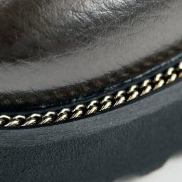 Luca Grossi/ルカグロッシ インナームートン ブーツ(イタリア製) チェーン部分