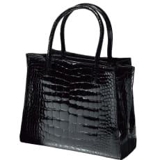 クロコダイル サイドベルト デザインバッグ