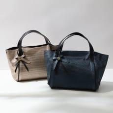 RIPANI/リパーニ メタリック型押しバッグ