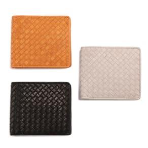 ホースメッシュ 二つ折財布 写真