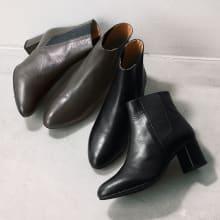 高井さんの靴 牛革5Eシルエットブーツ
