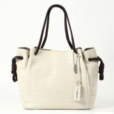 クロコダイル ハンドルデザインバッグ