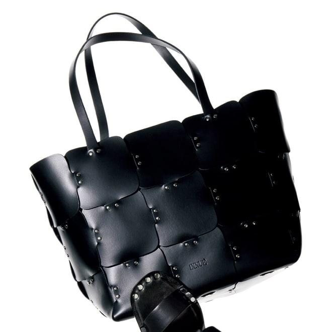 INNUE/イヌエ トートバッグ(イタリア製) ブラック ※サンダルの販売はございません。