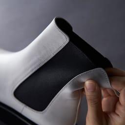 chiaki katagiri/チアキカタギリ 厚底 サイドゴア ショートブーツ 深めのサイドゴアでデザイン性と履き心地のよさがアップ