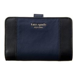 kate spade/ケイト・スペード 折財布 PWRU7748 (イ)ネイビー/ブルー