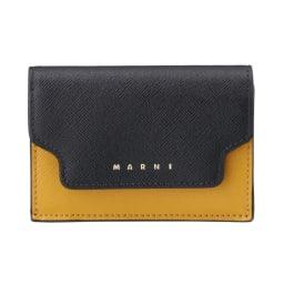 MARNI/マルニ 折財布 PFMOW02U23LV (ウ)ブラックマルチ