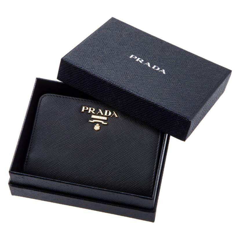 size 40 c96c7 214c0 PRADA/プラダ 二つ折財布 1ML018 QWA 通販 - ディノス