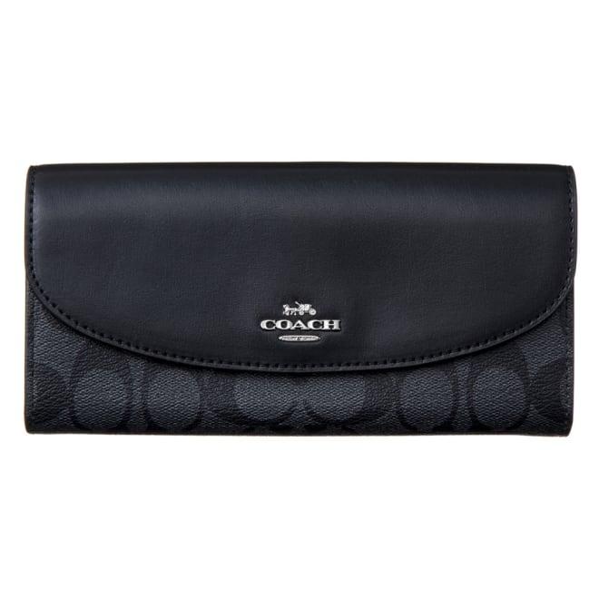 COACH OUTLET/コーチアウトレット 財布 F54022 (ア)グレー/ブラック