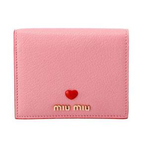 MIU MIU/ミュウミュウ 折財布 5MV2042BC 写真