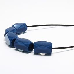 ABISTE/アビステ Zsiska(シスカ) カラーブロック ネックレス (ア)ブルー