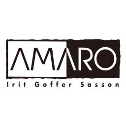 AMARO/アマーロ ラウンドストーン イヤリング・ピアス