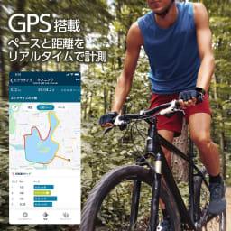 Fitbit/フィットビット CHARGE4 GPS搭載、ペースと距離をリアルタイムで計測