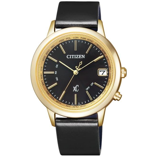 CITIZEN/シチズン xC(クロスシー) HAPPYFLIGHT コラボ限定モデル エコ・ドライブ電波時計 多極受信型 CB1102-01F