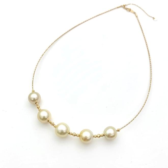 K18 南洋真珠 ネックレス