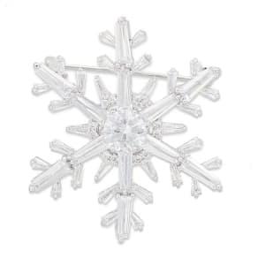 ABISTE/アビステ 雪の結晶 ブローチ 【A】 写真