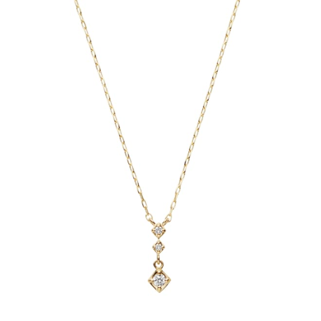 VENDOME AOYAMA/VAヴァンドーム青山 K18 ダイヤモンド ネックレス