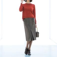 ブリティッシュチェック ポケットデザイン スカート