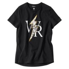 WORDROBE/ワードローブ スパンコール使い 半袖 Tシャツ