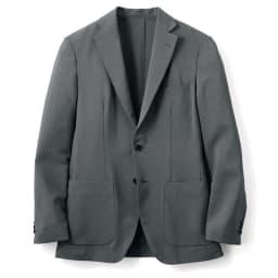 洗える軽量 セットアップシリーズ ジャケット (ア)グレー