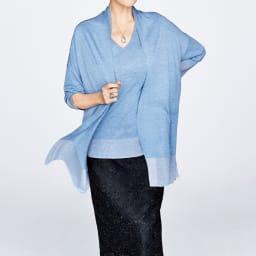 ラッセルレース×総刺繍 タイトスカート(サイズM) コーディネート例