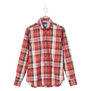 SCENE(R) 7DAYS ジャパンメイドシャツシリーズ ブロードマドラスチェック 写真