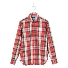 SCENE(R) 7DAYS ジャパンメイドシャツシリーズ ブロードマドラスチェック