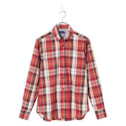 SCENE(R) 7DAYS ジャパンメイドシャツシリーズ ブロードマドラスチェック きれいめな素材感でマドラスチェックも大人顔。