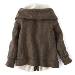 イタリア製素材 ダブルフェイスジャケット Back Style