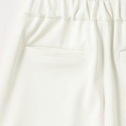 多機能素材 (はっ水・UVカット・透け防止) セミワイドパンツ【2点以上で10%OFF】 Back Style