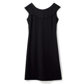 Ambra chiara/アンブラキアラ バックリボンブラックドレス(イタリア製) 写真